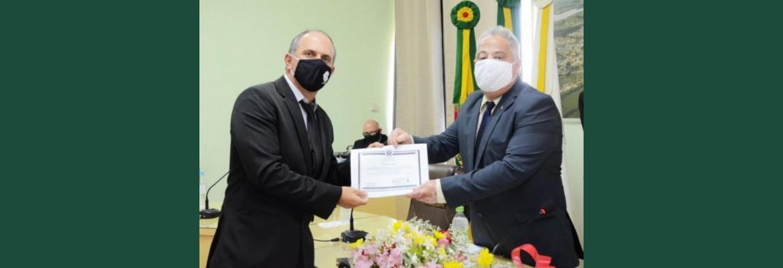 Câmara Municipal de Arroio Grande realiza Cerimônia de Posse dos vereadores eleitos