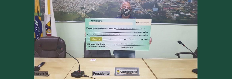 Final de mandato 2020 - Presidente Joaquim Vandré Brasil Vieira